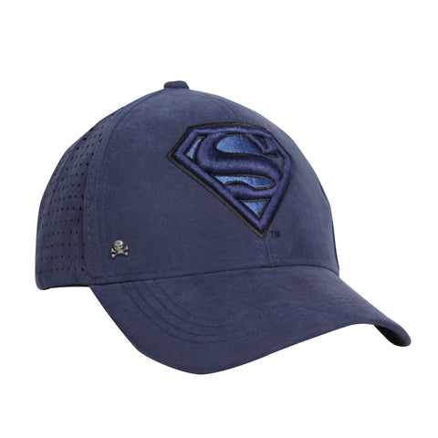 Gorra Baseball Logo Superman Blue