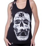 Blusa Tank Top Iron Cross Skull