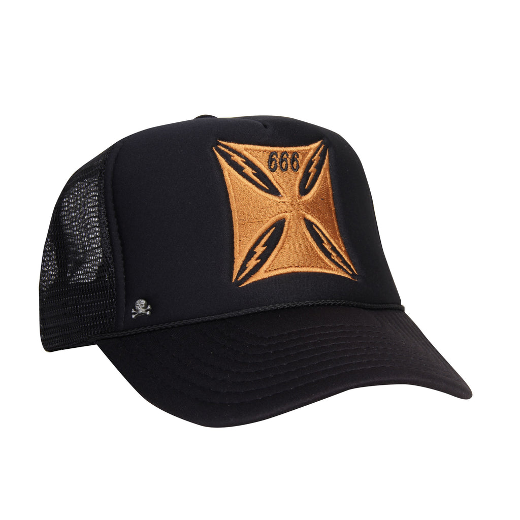 Gorra Trucker Cruz 666