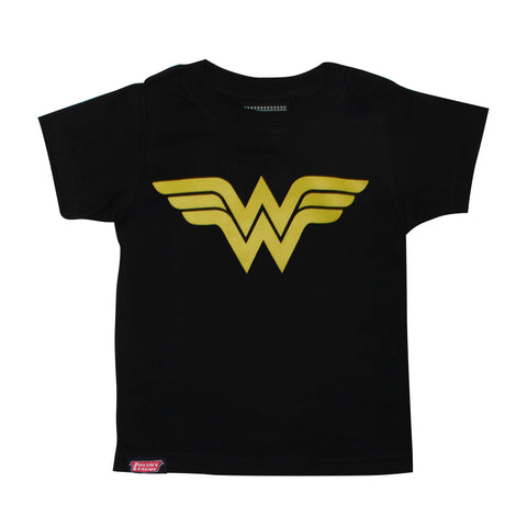 Playera Niño Logo Wonder Woman