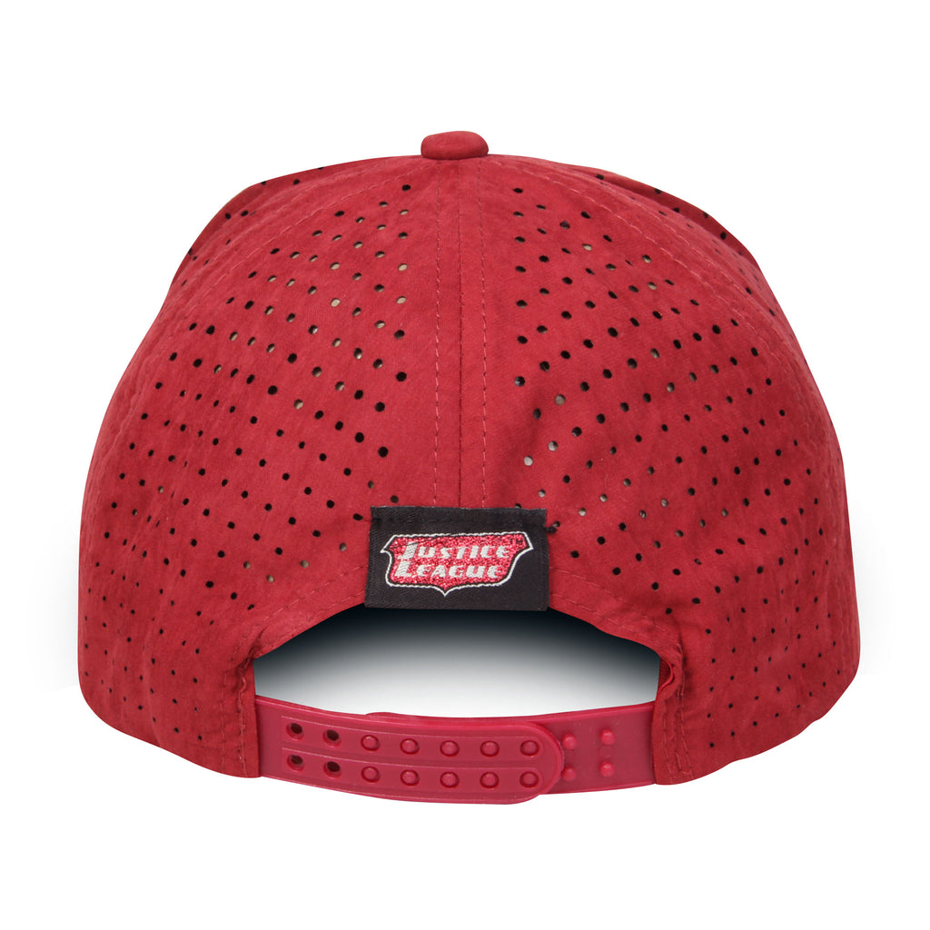 Gorra Baseball Logo Flash Vino