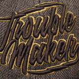 Gorra LMDD Trouble Maker Cafe/Dorado