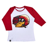 Blusa Ranglan Fire Bird