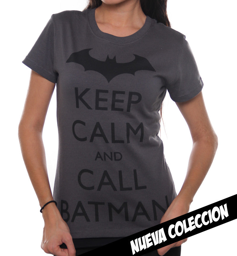 Blusa Keep Calm Batman