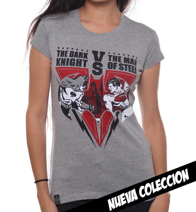 Blusa Batman vs Superman City