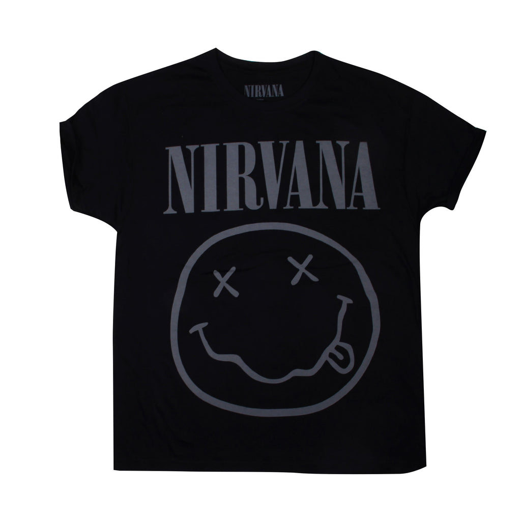 Playera Logo Nirvana Black