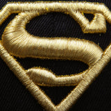 Gorra Plana Logo Superman Golden Edition