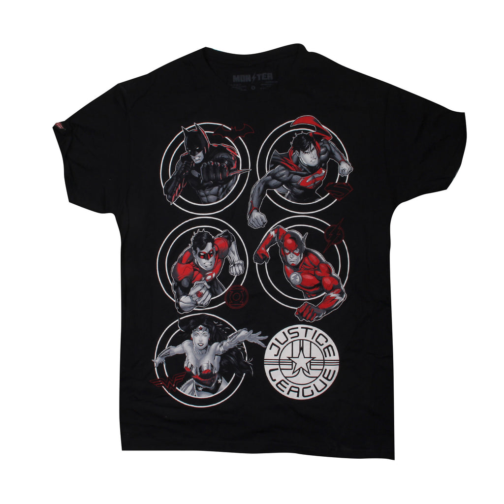 Playera Dark Electric Justice League