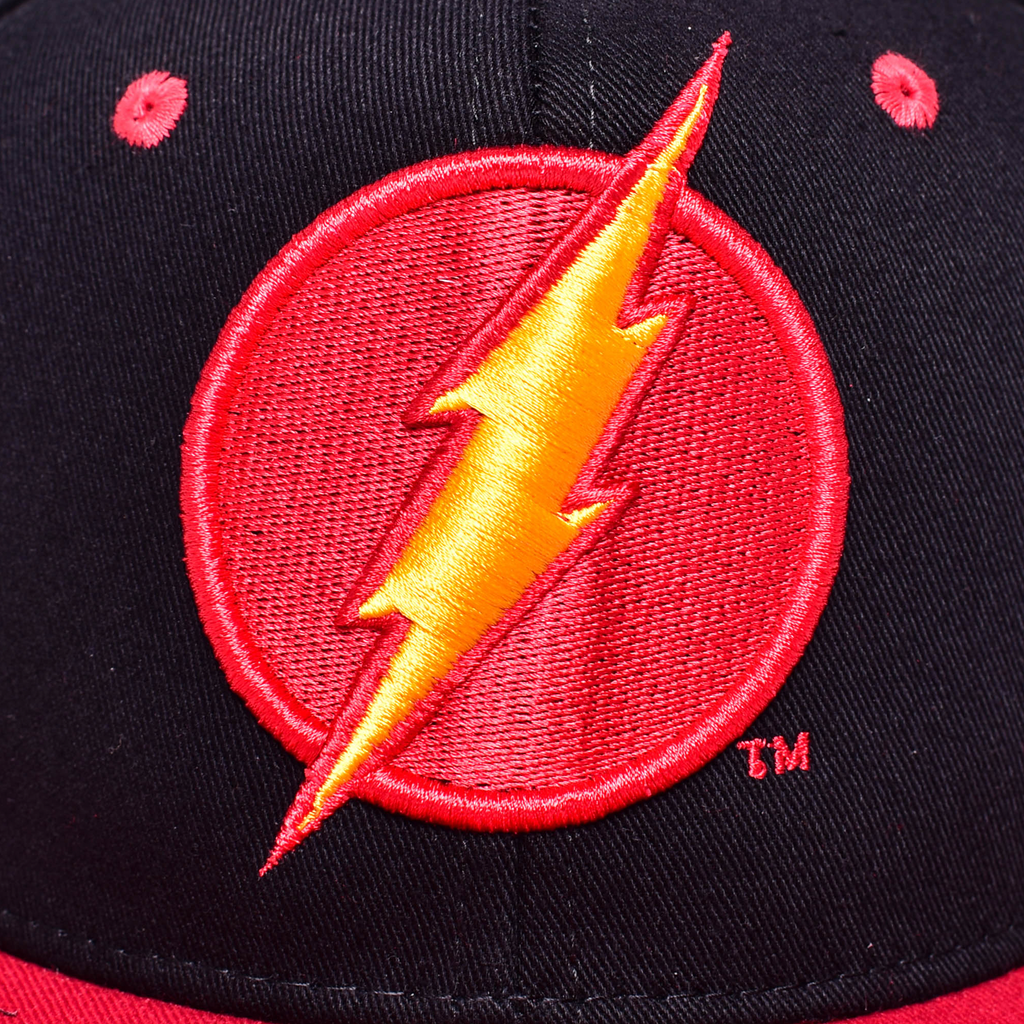 Gorra Flash Negro / Rojo