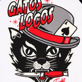 Playera 3/4 LMDD Gatos Locos