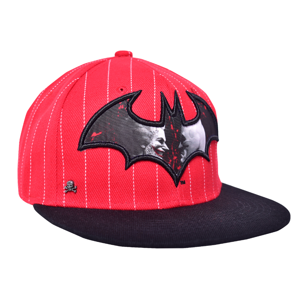 Gorra Batman VS Joker Rojo / Negro