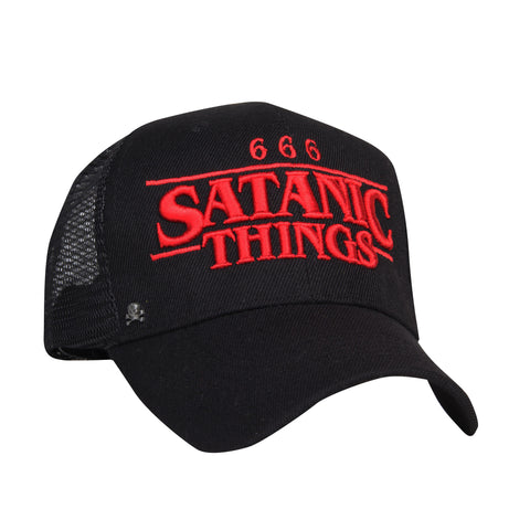 Gorra Trucker Satanic Things