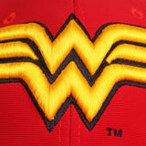 Gorra Baseball Logo Wonder Woman Cerrada - Flex