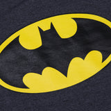 Sudadera Logo Batman Rayas/Oxford