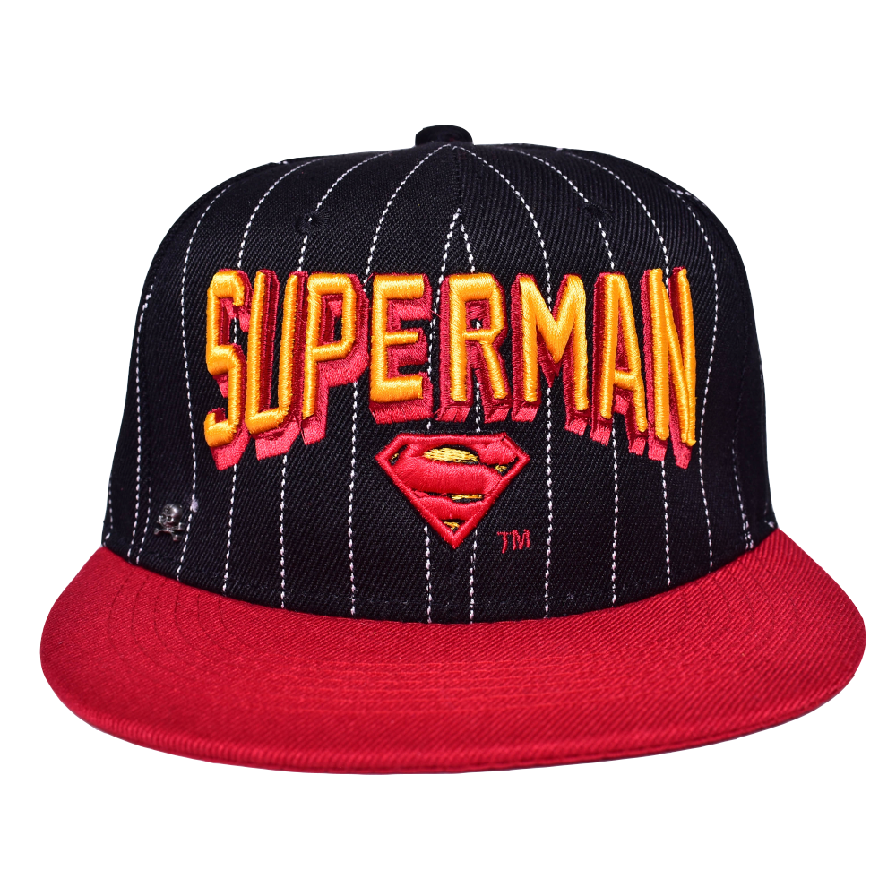 Gorra The Superman Negro / Rojo Lineas