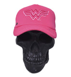 Gorra Logo Wonder Woman Trucker Rosa
