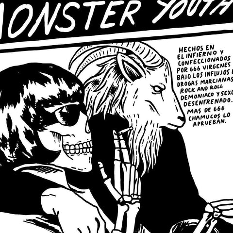 Hombre Top Seller Monster Youth