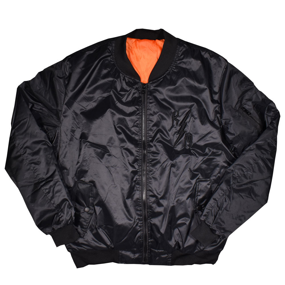 Chamarra Bomber Jacket Logo Monster
