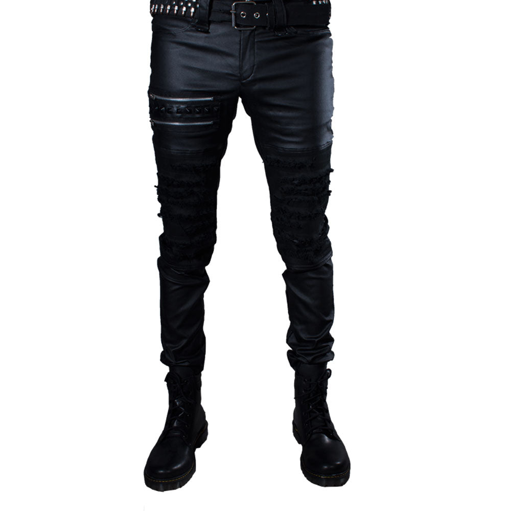 Pantalon Punk Rock Plastificado