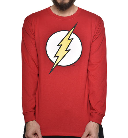Playera Logo Flash Manga Larga