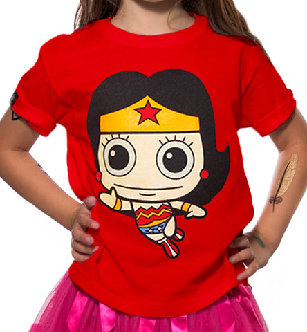 Playera Niña Wonder Woman Ojon