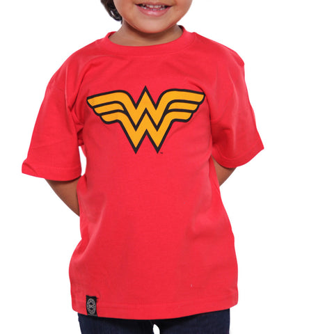 Playera Wonder Woman Niño