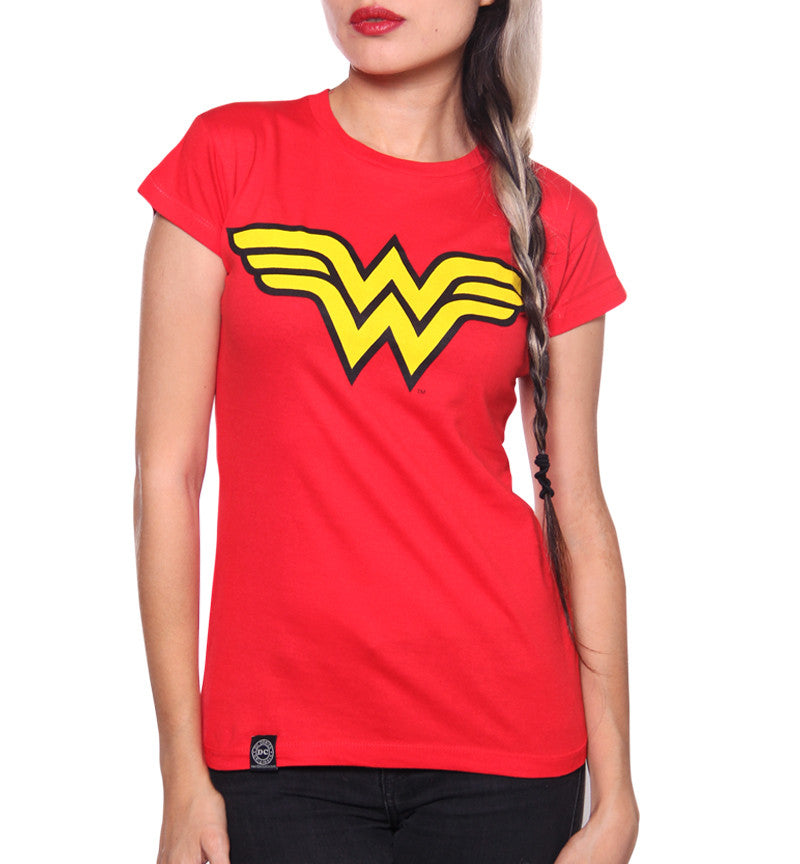 Blusa Logo Wonder Woman