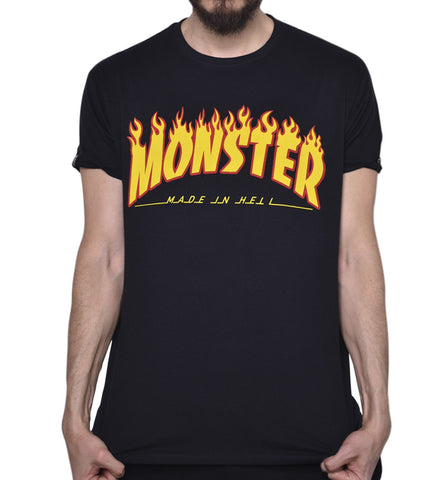 Playera Monster Thrash