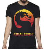Playera Mortal Kombat Flamas
