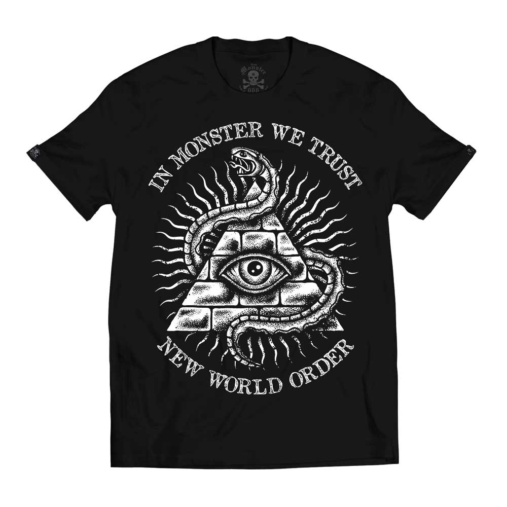 Hombre Top Seller New World Order