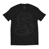 Hombre Top Seller Cobra Kai Black