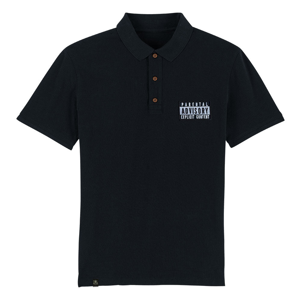 Playera Polo Parental Advisory