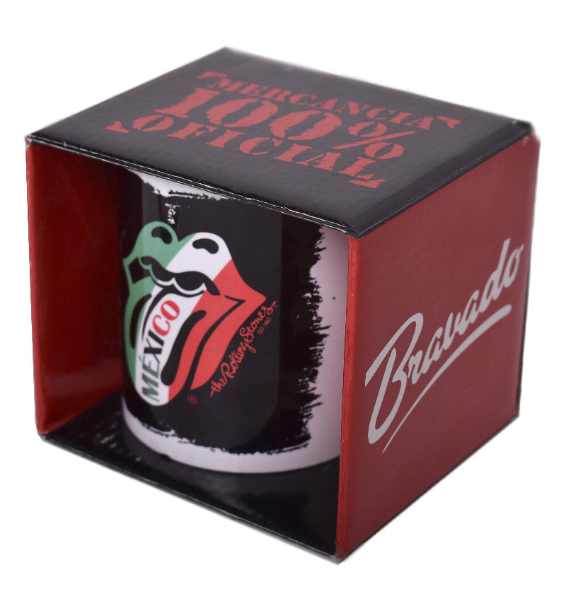 Taza The Rolling Stones Blach Mexico