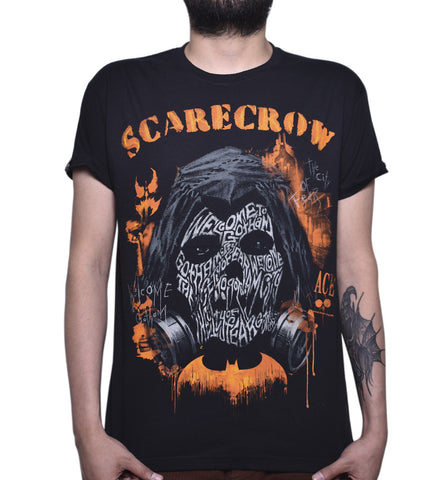 Playera Scarecrow City Of Fear