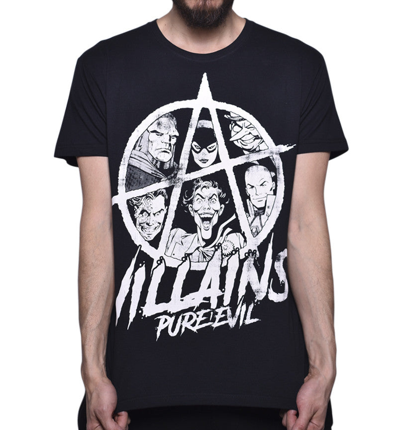 Playera Pure Evil Villains