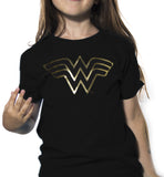 Playera Niño Logo Wonder Woman Foil