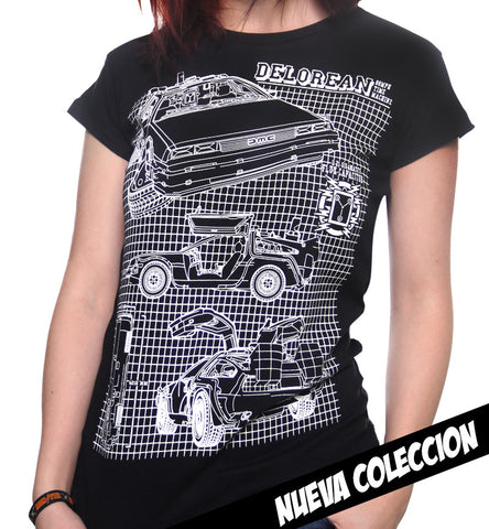 Blusa Delorean