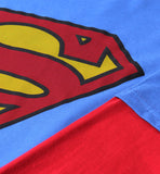 Logo Superman Manga Larga Roja