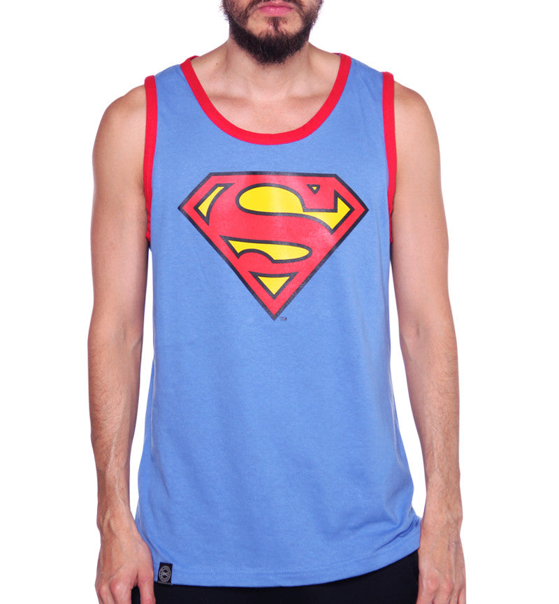 Playera Tank Top Logo Superman