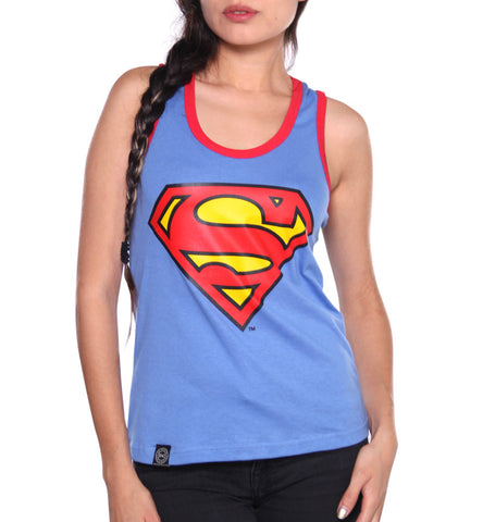 Blusa Tank Top Logo Superman