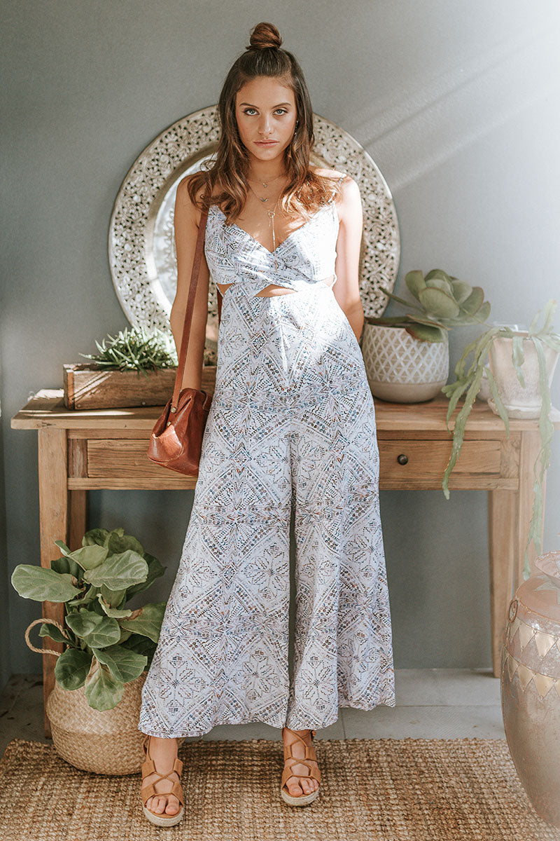 Isla Jumpsuit - Shell