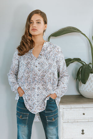 Sabal Blouse - Shell