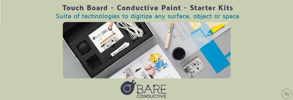Bare conductive in Australia collection at Pakronics
