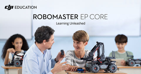 DJI robomaster EP core and S1 for school education