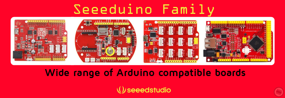Seeeduino board in Australia collection at Pakronics