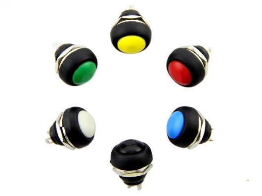 Buy Australia 12mm Domed Push Button Pack , Buttons & Switches - Seeed Studio, Pakronics Melbourne  in Australia - 1