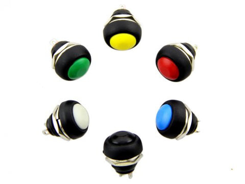 12mm Domed Push Button Pack - Buy - Pakronics®- STEM Educational kit supplier Australia- coding - robotics