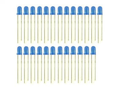 Buy Australia 3mm LED Blue - 25 PCs , LED - Seeed Studio, Pakronics Melbourne  in Australia - 1