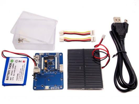 Wireless Sensor Node - Solar Kit - Buy - Pakronics®- STEM Educational kit supplier Australia- coding - robotics