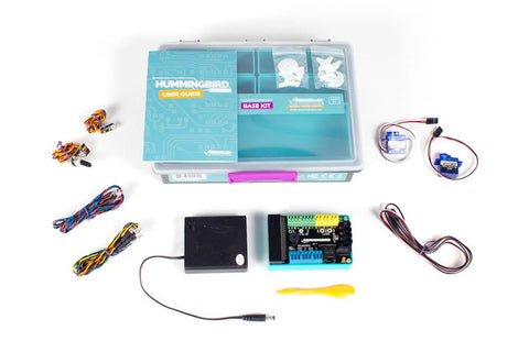 Hummingbird Bit Base Kit (Does not include Micro:bit) - Buy - Pakronics®- STEM Educational kit supplier Australia- coding - robotics